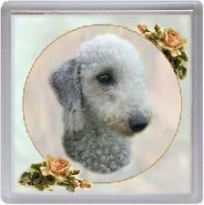 Bedlington Terrier Coaster Starprint Product - Auto combined postage