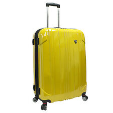 "Traveler Choice 29"" Yellow Sedona Lightweight Pure Polycarbonate Spinner Luggage"