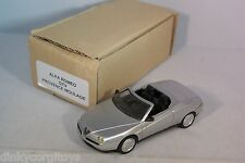 PROVENCE MOULAGE ALFA ROMEO GTV SPIDER METALLIC SILVER GREY MINT CONDITION