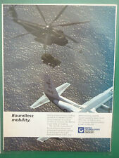 6/1986 PUB SIKORSKY CH-53E REFUELING HELICOPTER LIGHT ARMORED VEHICLE AD