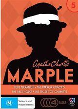 Agatha Christie's Miss Marple : Season 5 (DVD, 2013, 4-Disc Set) Brand New (D113