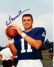 EARL MORRALL AUTOGRAPHED 8x10 signed NY GIANTS Photo SUPER BOWL V COLTS DOLPHINS