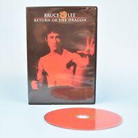 Bruce Lee - Return of the Dragon DVD - W/ CHUCK NORRIS - Guaranteed!
