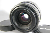 NIKON AF Nikkor 35-70mm f/3.3-4.5 Standard Lnes [Excellent] w/ Caps From Japan