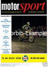 MS6611-POSTER ROADRACE ZANDVOORT ROADRACES NR 53,48,78,98 E.A. 1966,GREEVES MODE