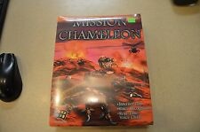FACTORY SEALED MISSION CHAMELEON FOR PC ON CD-ROM COMPUTER GAME