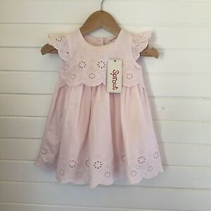 Sprout Pale Pink Dress - BNWT / NWT - Size 00 / 3-6 months