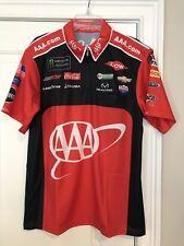 Austin Dillon 2017 AAA Monster Energy Crew Shirt Nascar Authentic RCR Chevrolet