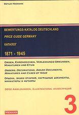 2701: Bewertungs-Katalog Deutschland 1871 -1945, Detlev Niemann