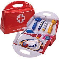 Kid's DOCTOR BAG Dr Case Bag Medical Nurse Stethoscope Child Pretend Play Set
