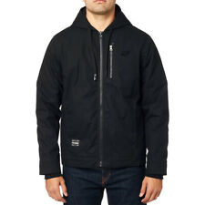Fox Racing Mercer Hooded Zip Up Jacket Hoody Black Men's XLarge BRAND NEW