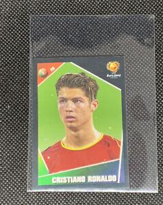 EXCELLENT ! CRISTIANO RONALDO #23 PANINI EURO 2004 FOOTBALL SOCCER STICKER