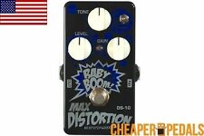 NEW BIYANG DS-10 MAX DISTORTION Rat Clone Pedal *FREE* Shipping! US Dealer!