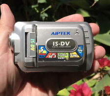 Aiptek IS-DV Digital Camcorder Mini-Camcorder 5-Megapixels Not Tested