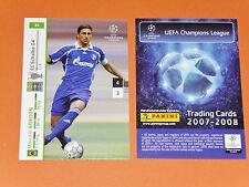 MARCELO BORDON SCHALKE 04 FOOTBALL CARDS PANINI CHAMPIONS LEAGUE 2007-2008