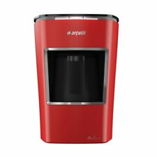 ARCELIK K3400 Telve Red FAST TURKISH COFFEE MACHINE Full Automatic, Water Tank