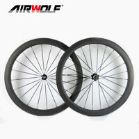 700C 50*25mm Clincher Carbon Road Bicycle Wheel Novatec Hubs Carbon Bike Wheels