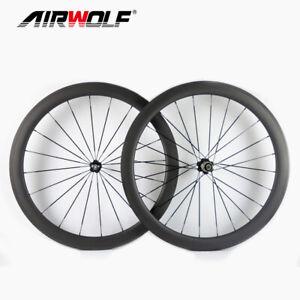 700C 50*25mm Drahtreifen Carbon Rennradfelge Novatec Naben Carbon Fahrradfelgen