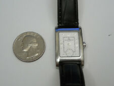 BAUME MERCIER SOLID STEEL 20MM HAMPTON DRESS WATCH WITH SUB SECOND DIAL