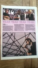 The POGUES in New York 1989 concert review UK ARTICLE / clipping