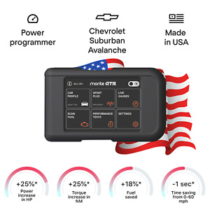 Chevrolet Suburban Avalanche tuning chip power programmer performance race tuner