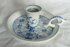 Bougeoir Porcelaine Meissen XIXé s