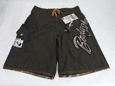 New Mens 32 Body Glove Skinard Green 360 Waistband Vapor Long Board Shorts $45