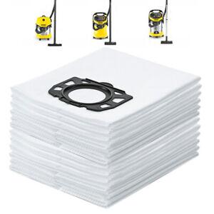 12X Fleece Filter Bags For Karcher WD4 MV4 MV5 MV6 WD5/P WD 6 P 6 2.863-006.0