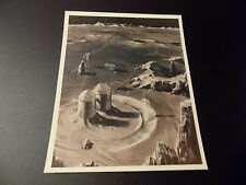 VTG ORIGINAL NASA PRE-MANNED FLT FUTURISTIC ART CONCEPT PHOTO-A KODAK PAPER