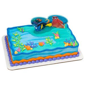Finding Dory Fintastic Adventure Ocean Cake Topper Birthday Kids Children Party