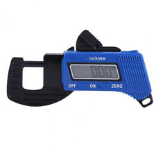 Digital Coating Thickness Gauge Lcd Nfe Paint Meter Probe Tester Button Battery