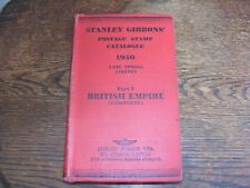STANLEY GIBBONS POSTAGE STAMP CATALOGUE 1950 PART 1 BRITISH EMPIRE LATE SPRING