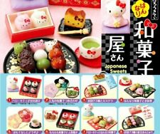 Hello Kitty Re-ment Japanese Confectionery Shop Full Set 8 pcs rare