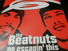 """The Beatnuts  – No Escapin' This / It's Da Nuts USED 12"""" 2000 Loud records"""