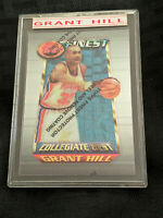 1995 Grant Hill 200 Topps Finest w/Peel Basketball Card NBA