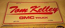 Advertising Dealership Metal License Plate Auto Dealer GMC Truck Fort Wayne IN