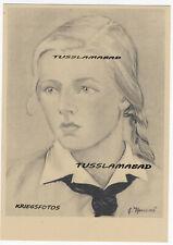 BDM Mädchen Portrait siehe Postkarte Jugend  Eva Thomas