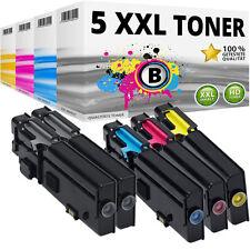 5x XXL TONER für DELL C2660DN C2665DNF  VXCWK YR3W3 RD80W 488NH KARTUSCHE SET