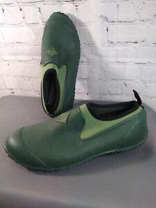 GUC women's ORIGINAL MUCK BOOT CO green rubber MUCKSTER II low - size 10 / 41