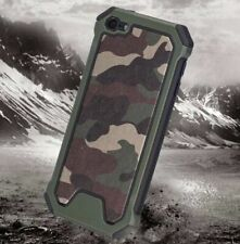 Hybrid Deluxe Premium Camo Green Hard Case Cover for Ipod Touch 6 6th gen A1574