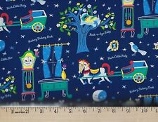 NURSEY RHYMES 24586 Windham Prints  100% COTTON FABRIC  priced by the 1/2 yard