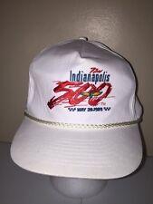 INDIANAPOLIS 500 SNAPBACK VINTAGE Baseball Cap Trucker Hat Retro Rare Lid D