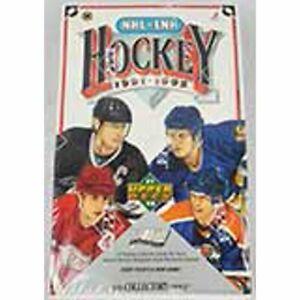 UPPER DECK NHL-LNH 1991-1992 HOCKEY  HIGH NUMBER CARDS (BOX OF 36 PACKS)