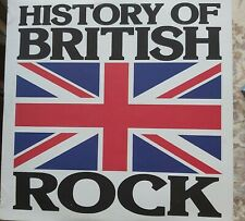 History Of British Rock. 1976 Vinyl-LP, Excellent Condition Pre-owned.