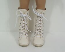 "CREAM Zipper Boots CF Doll Shoes For Dianna Effner 13"" Little Darling (Debs)"