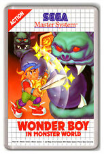 WONDER BOY IN MONSTER WORLD SEGA MASTER SYSTEM FRIDGE MAGNET IMAN NEVERA