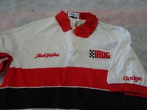 "IROC Racing Series Dodge Chrysler Corp MOPAR True Value Polo Shirt  ""L"" Large"