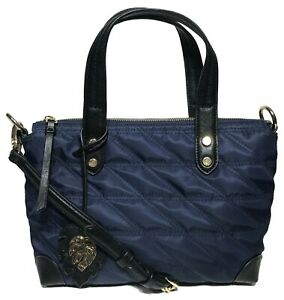 Tommy Bahama Women's Siesta Key Quilted Satchel, Navy Blue Color
