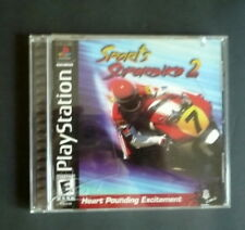 SPORT'S SUPERBIKE 2 , PLAY STATION, GOOD CONDITION, HEART POUNDING ACTION