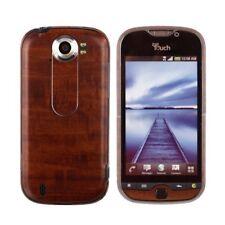 Skinomi Phone Skin Dark Wood+Screen Protector Film for T-Mobile MyTouch 4G Slide